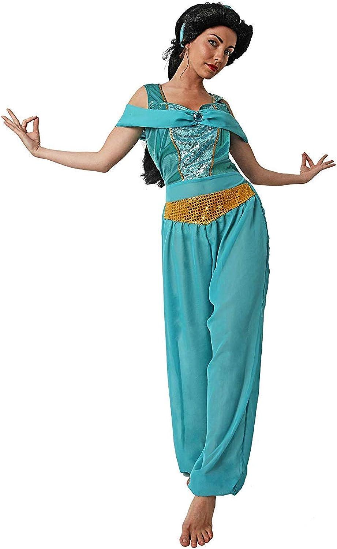 LBA Disfraz de Princesa Árabe, tipo Jasmín. Vestido y Diadema ...