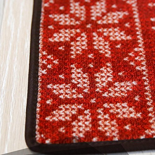 OOFYHOME Carpets, mats, European-style Christmas rugs, tide mats bedroom kitchen non-slip mattresses, short hair hall mattresses , 40 x 120cm by OOFYHOME (Image #3)