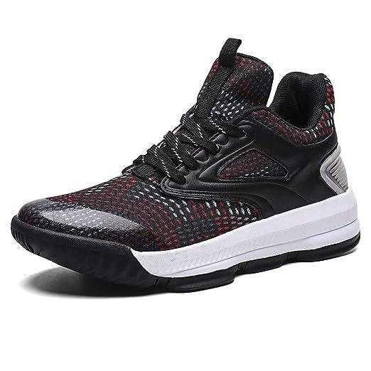 YSZDM Zapatos de Baloncesto, el Rendimiento de absorción de ...