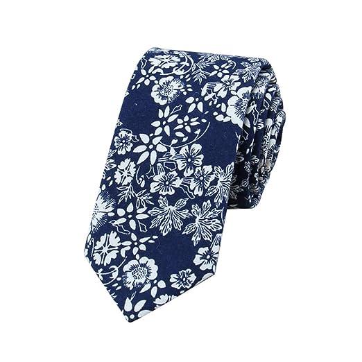 Hosaire. 1pc Corbata de Flores Hombres Corbata de impresión de ...