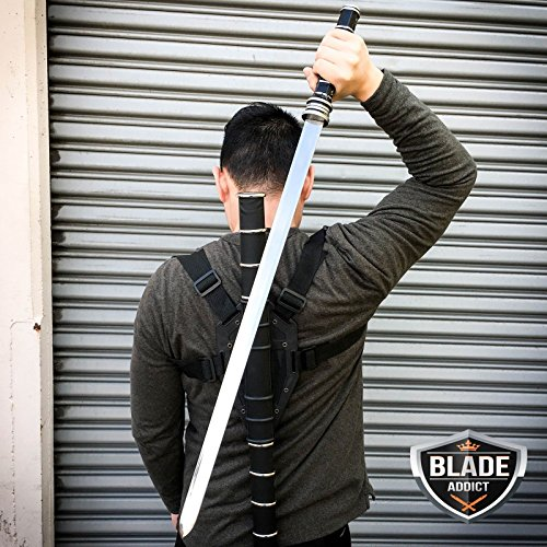 New BLADE SWORD OF THE DAYWALKER VAMPIRE SLAYER COSPLAY EcoGift Nice Knife with Sharp Blade + HARD SHEATH HARNESS- Great For Fun And Practical Use by New