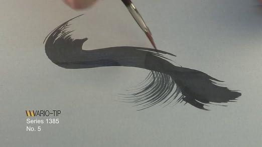Fan Synthetic 1385-5 Size 5 da Vinci Watercolor Series 1385 VarioTip Paint Brush