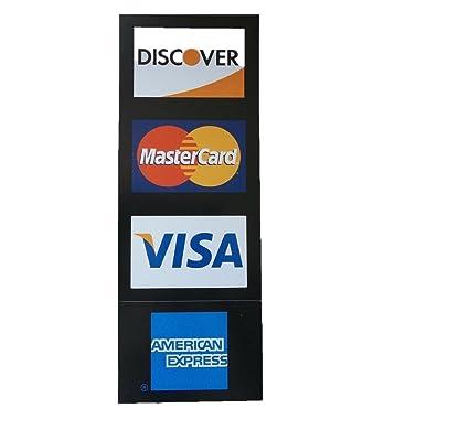 amazon com visa mc amex discover visa mastercard american express