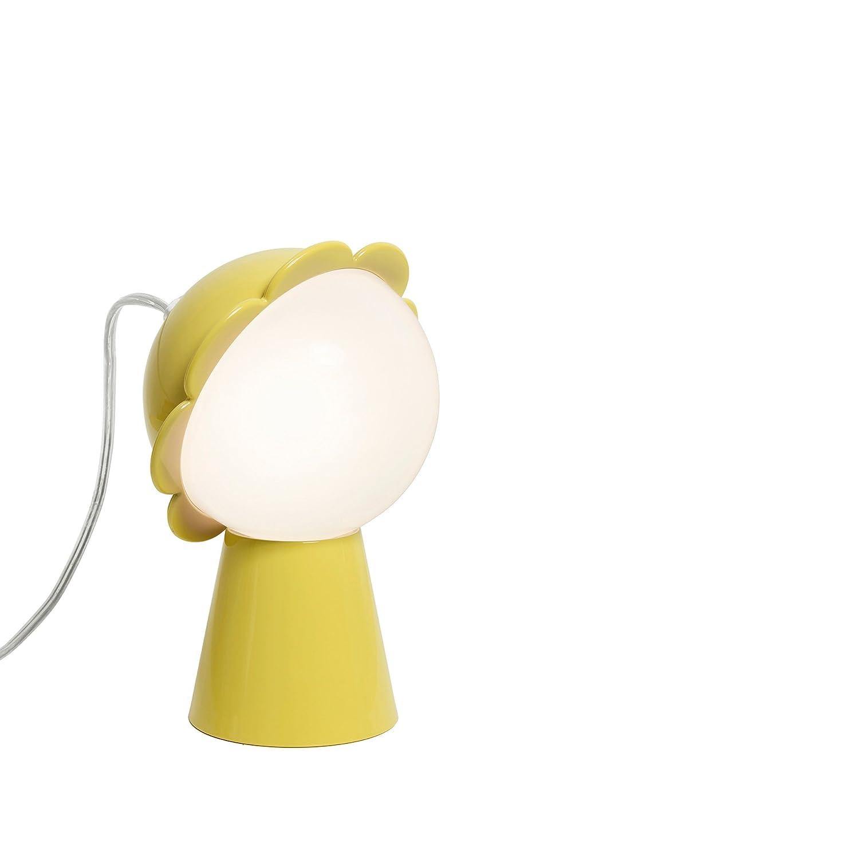 Qeeboo 50001YE A+, Daisy Lamp, Plastik, 4 W, G9, gelb