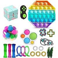 LICHENGTAI Set van 21 fidget-speelgoedset, stressvermindering, speelgoed, decompressie, sensory speelgoedset, autisme…