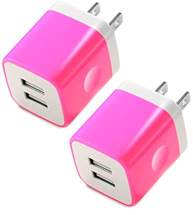 Amazon.com: Certified Cargador de pared USB de 2,1 Amp ...