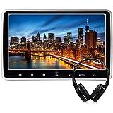 WZMIRAI 10.1 pollici ad alta definizione TFT LCD Monitor digitale portatile ultrasottile poggiatesta Monitor multimediale DVD Monitor con poggiatesta con porta HDMI e telecomando