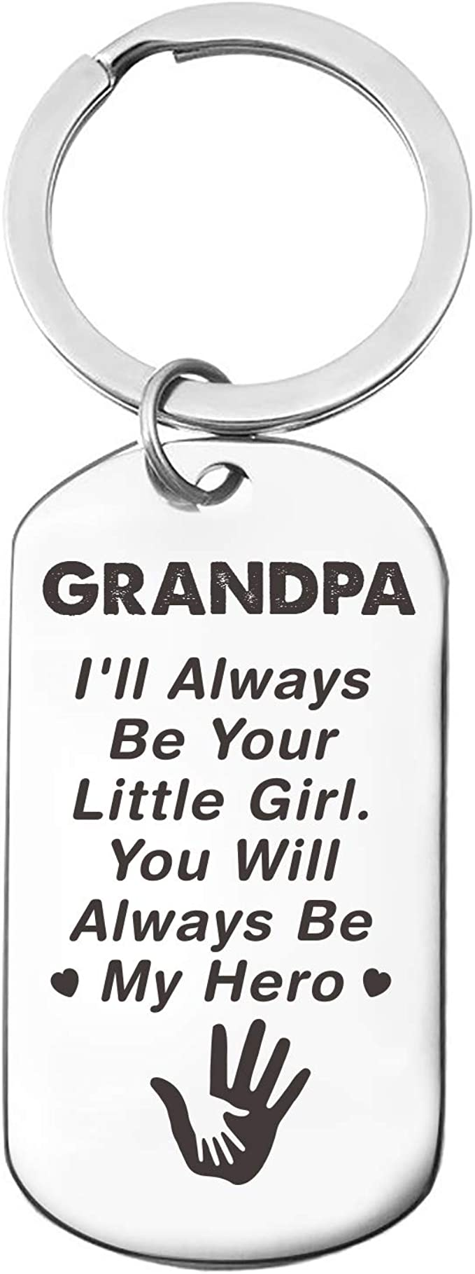 Download Amazon Com Grandpa Love Quotes Stainless Steel Key Chain Ring Best Grandfather Gift For Dad Father S Day Grandpa Birthday Gifts From Granddaughter Clothing