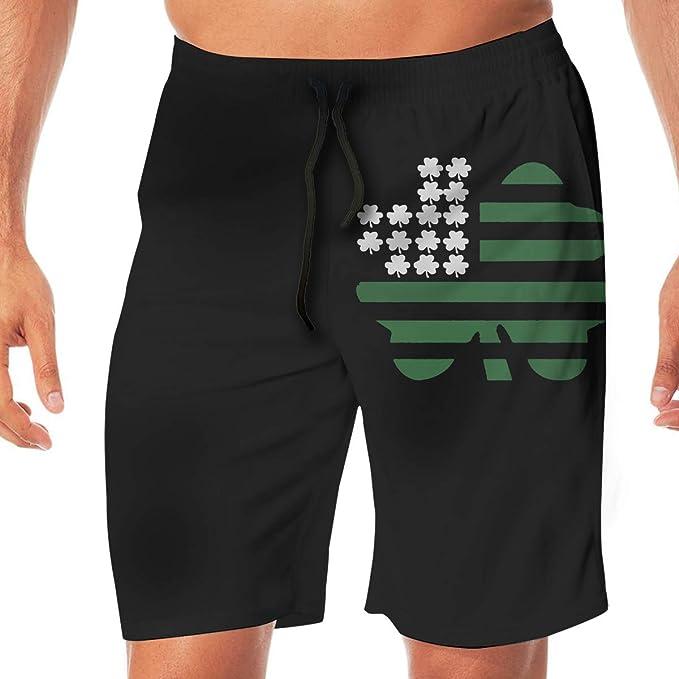 Lutratocro Men Beachwear Mid Rise Sports Cargo Multi-Pocket Open Bottom Short Pants