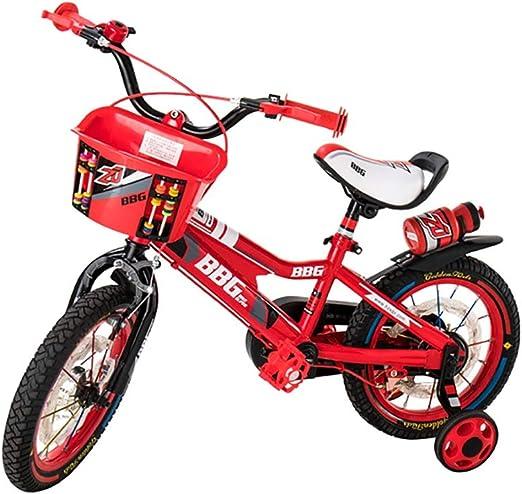 GAIQIN Durable Bicicleta para niños Bicicleta 3-6-7-10 años de ...
