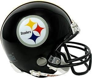 Riddell Pittsburgh Steelers Replica Mini Helmet w/ Z2B Face Mask