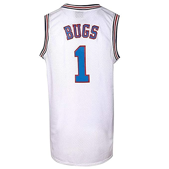Amazon.com: Yuzhanshui Bugs 1 Space - Camiseta de baloncesto ...