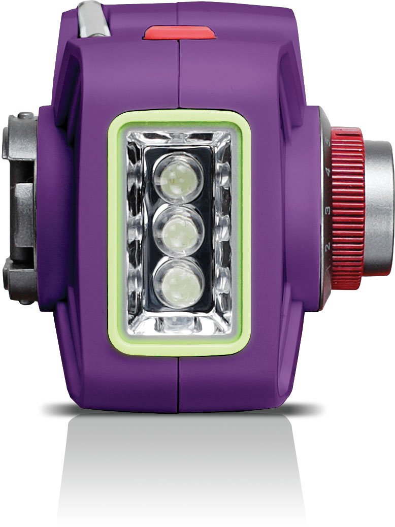 Eton Hand Turbine AM/FM Weather Radio and LED Flashlight - Purple (NFRX1WXPU)