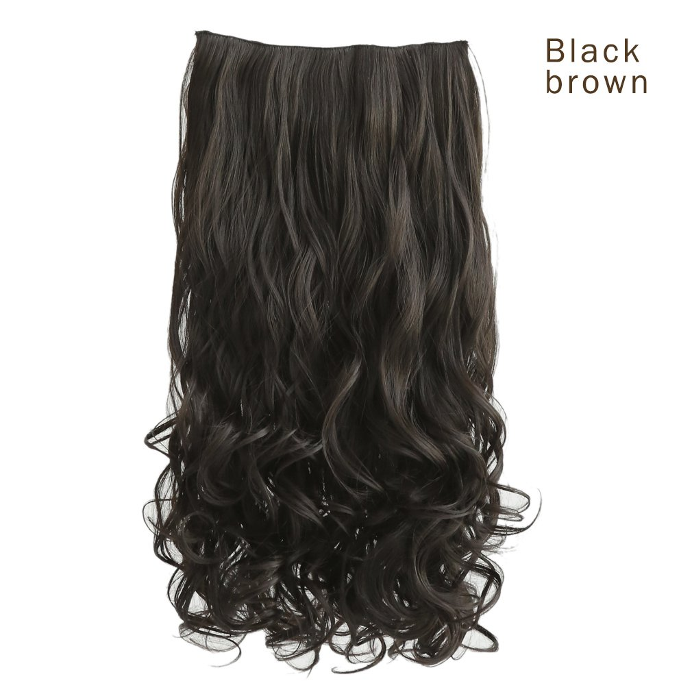 Amazon secret extensions hair extensions by daisy fuentes reecho 20 1 pack 34 full head curly wave clips in on pmusecretfo Images