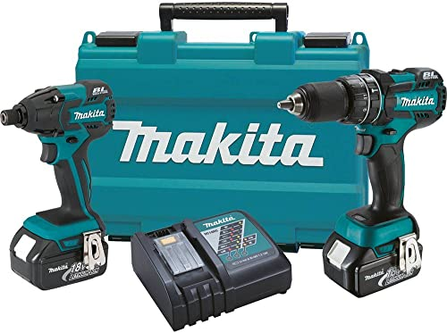 Makita XT248M 18V LXT Lithium-Ion Brushless Cordless Combo Kit, 2-Piece Discontinued by Manufacturer