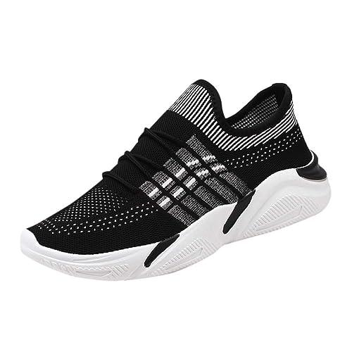 Herren Freizeitschuhe Jugendtrend Mesh Atmungsaktiv Dicker Platform Sneakers