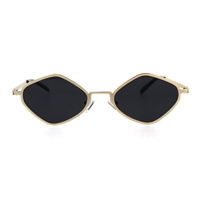 Amazon.com: Hippie - Gafas de sol retro con forma de ...