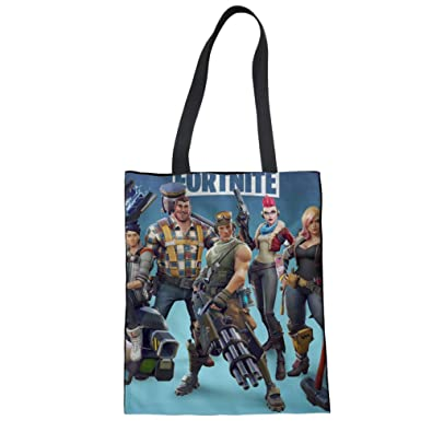 Amazon.com: ELVISWORDS Large Women Handbag Fortnite Battle ...