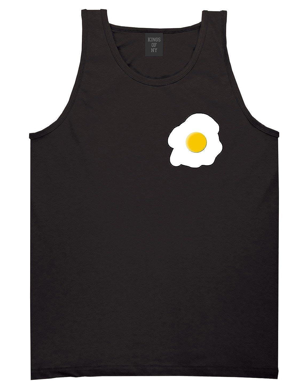 Fried Egg Breakfast Chest Mens Tank Top Shirt