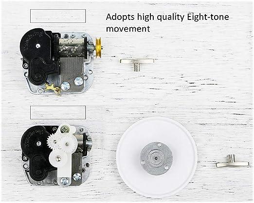 Rolife Construye tu propia caja de música 3d de madera Puzzle Kit ...