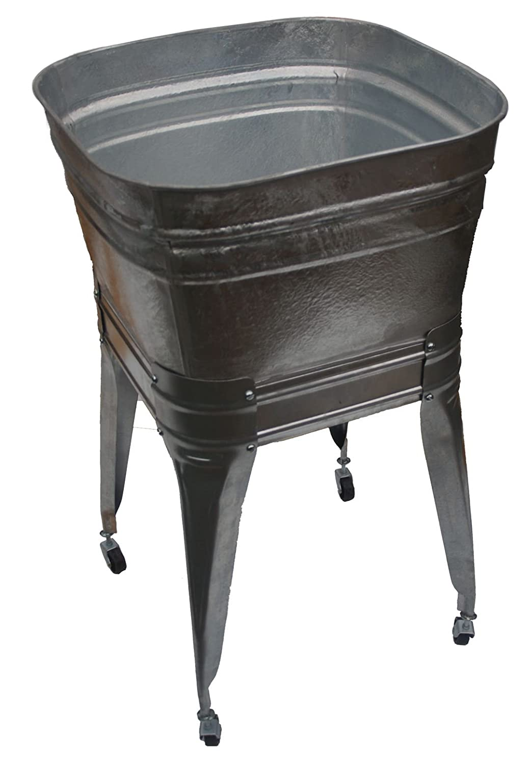 Square Wash Tub with stand and drain - - Amazon.com