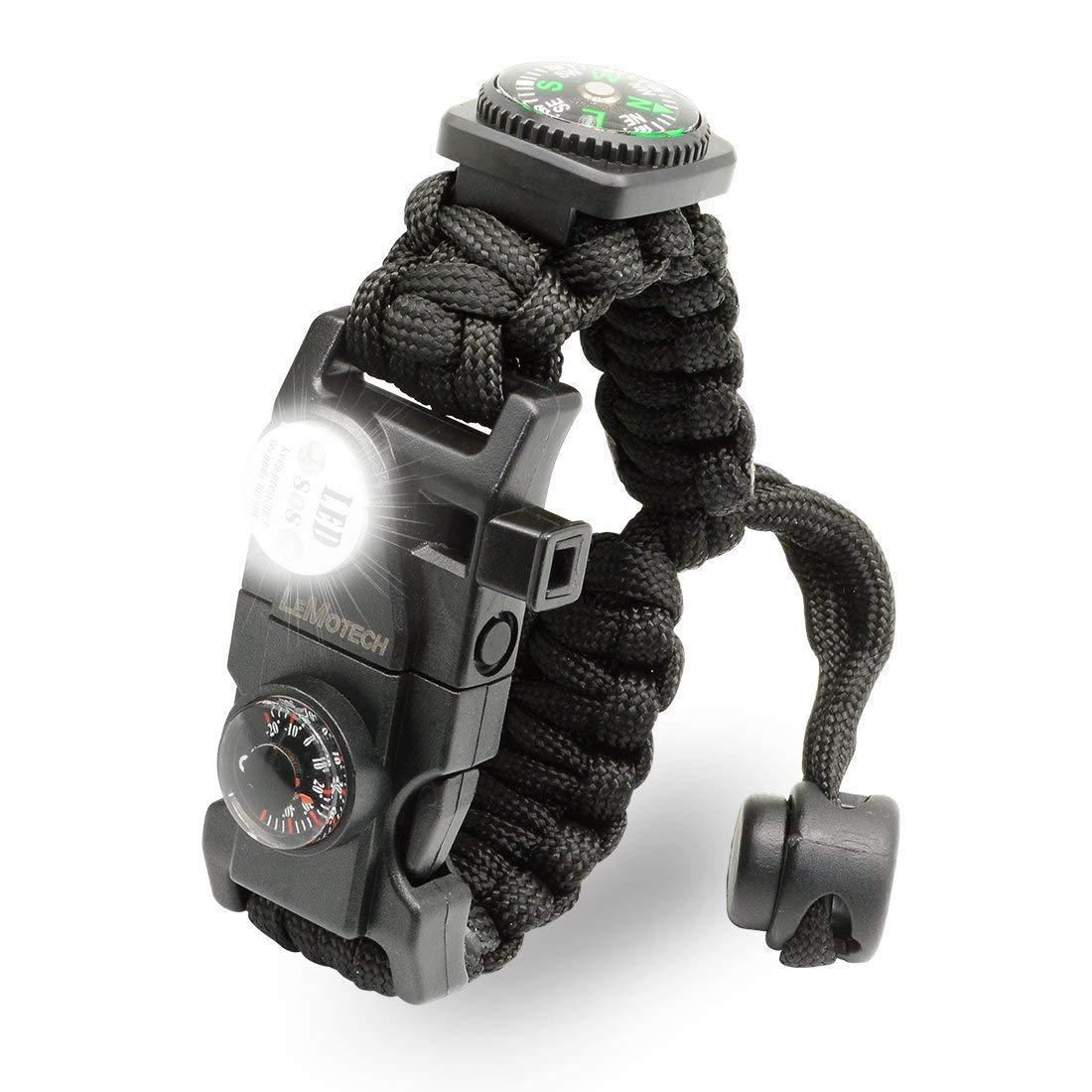 Ogquaton Bracelet de Survie Paracord de premi/ère qualit/é