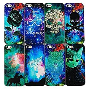 ZXSPACE Dream Star Series Back Case for iPhone4/4S(Assorted Color) , 2#