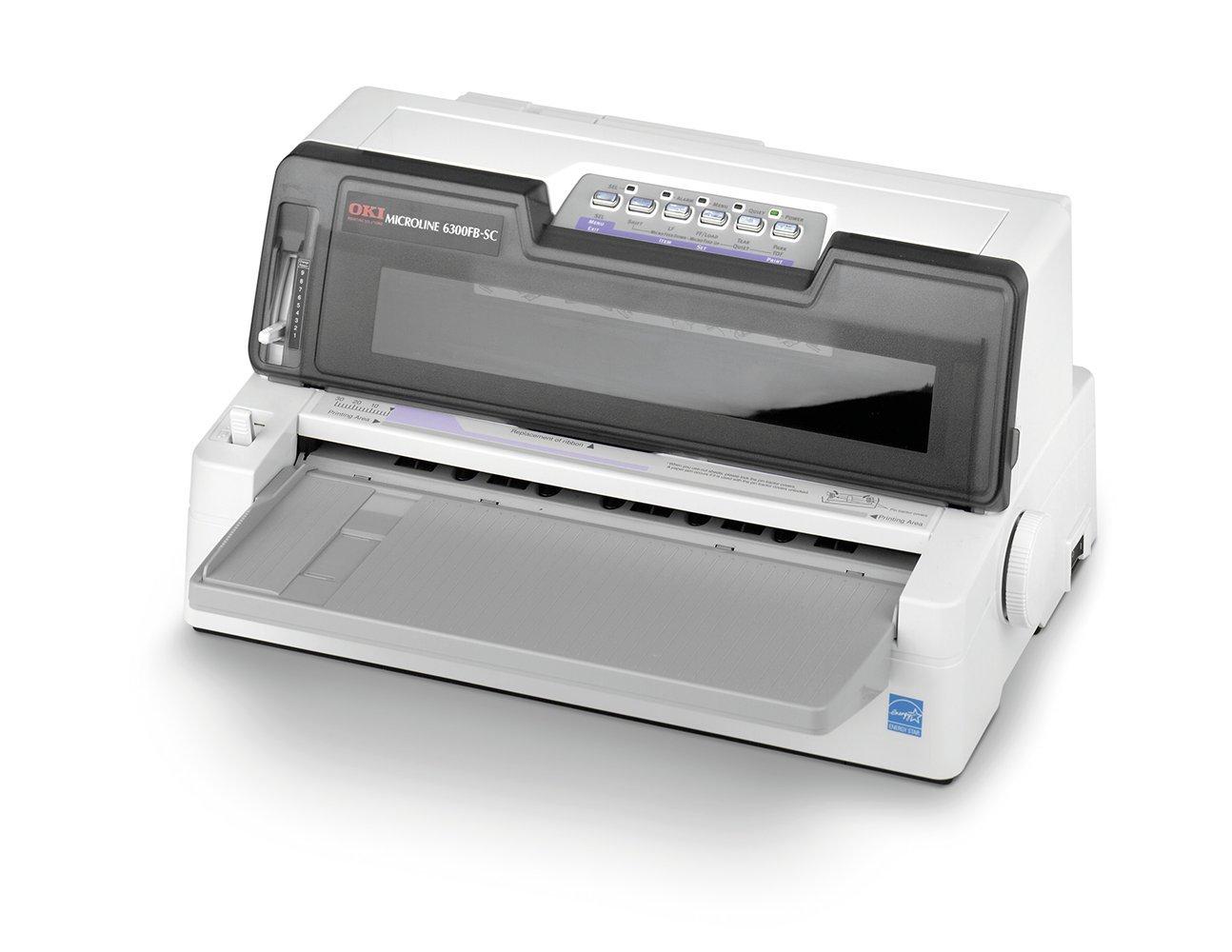 OKI 402714 - Impresora matricial monocromo (USB, 400 cará cteres por segundo) color negro 400 carácteres por segundo) color negro 1101207