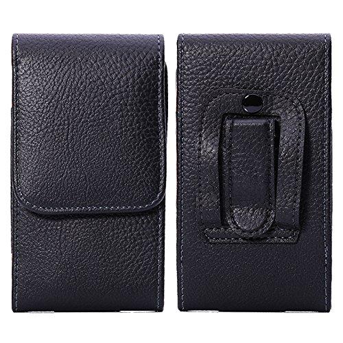 [해외]LORDWEY 헤매고 수납 파우치 スマホベルトケ?ス レザ?スマホケ?ス 허리 가방 벨트 홀더 허리 세로 4.7-5.2 인치까지 각 기종 대응 / Lordwey smartphone storage Pouch smartphone belt case leather smart phone waist bag belts holder waist Vert...
