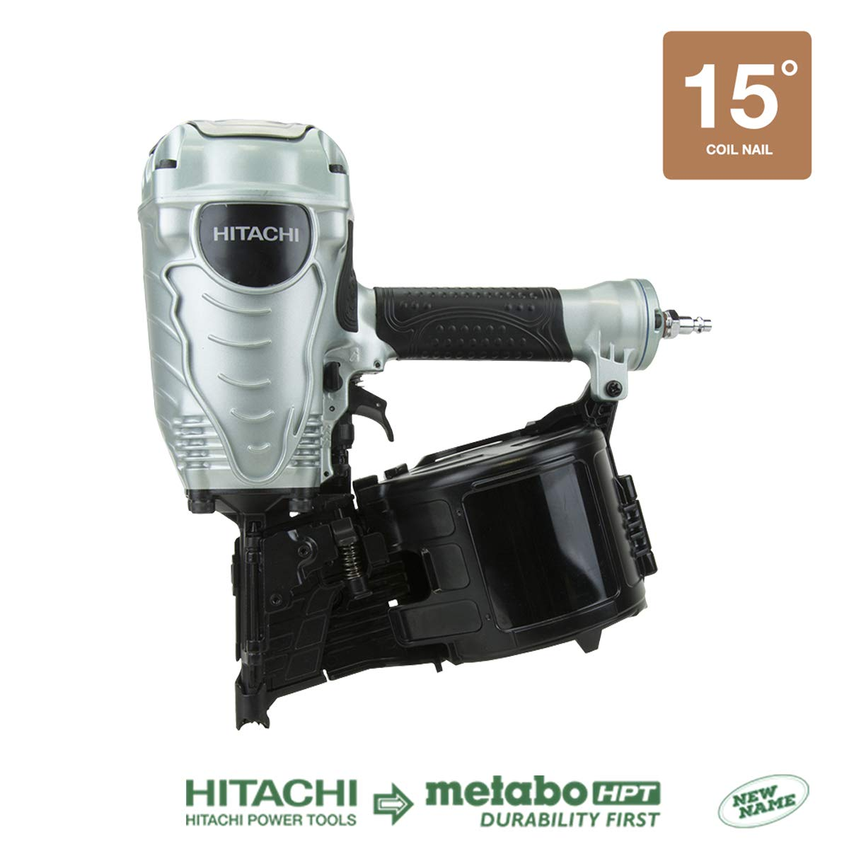 Hitachi NV90AGS 1-3 4-Inch to 3-1 2-Inch Coil Framing Nailer Discontinued by the Manufacturer