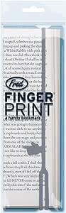 Fred FINGER PRINT a handy bookmark, Random Color