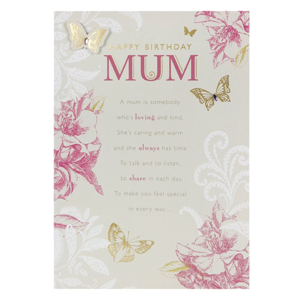 Hallmark birthday card for mum with love always medium amazon hallmark birthday card for mum with love always medium amazon office products kristyandbryce Image collections