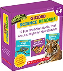 Set your child on the path to reading success with this exciting collection of 16-page books on favorite science topics: horses, bears, birds, sloths, tigers, honeybees, chameleons, and more. These level E and F full-color books featur...
