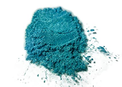 BLACK DIAMOND PIGMENTS 42g 15oz Blue Green Mica Powder Pigment Epoxy