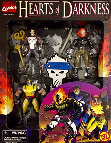 F.A.O. Schwartz Exclusive Hearts of Darkness Action Figure Set includes Ghost...