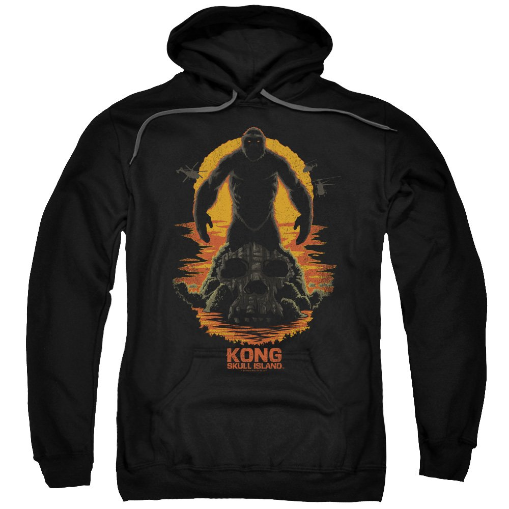 Kong Skull Island - - Männer Kong Silhouette Pullover Hoodie