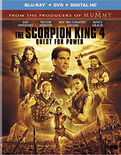 The Scorpion King 4: Quest for Power [Blu-ray] ()