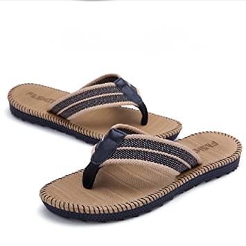 fc7caeab188a96 Amazon.com  Newerlives Summer Youth Flip Flops Man Lady Kids Beach ...