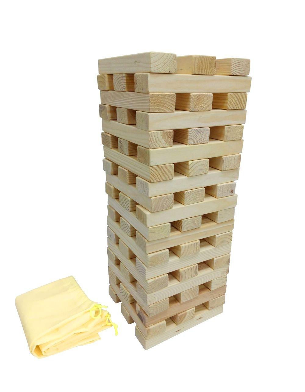 Heemika Gaint Tower Blocks Wooden Tower ,Max to 1.8M Height
