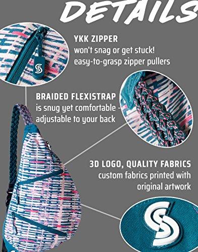 9299759922 Slope Sling Bag for Women Kids School Crossbody Shoulder Backpack One Strap  Daypack