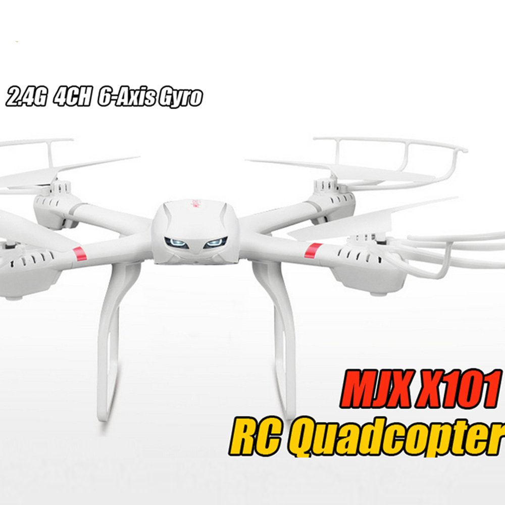 Cool FPV Wifi Drone MJX X101 6-Axis Gyro RC Quadcopter RTF con ...