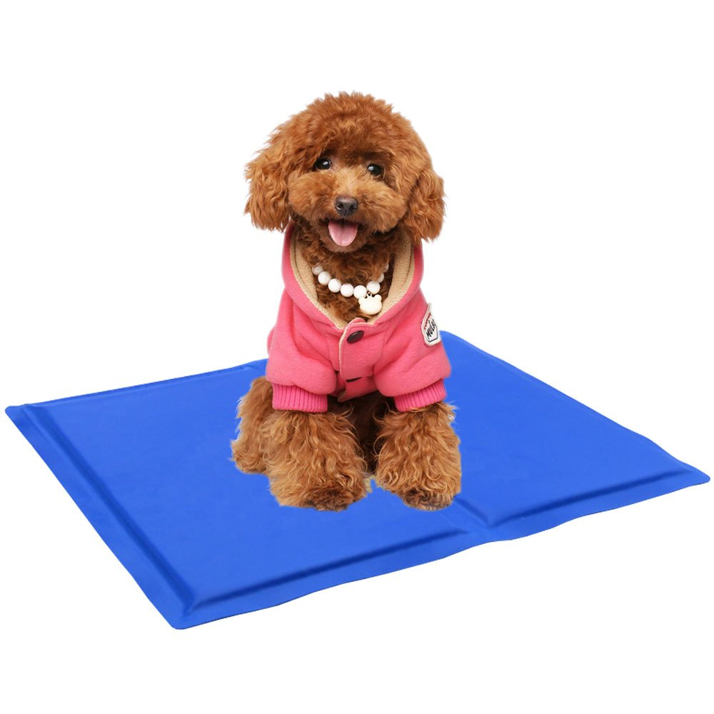 Pet Cooling Mat - TINDERALA Dog Ice Pad Waterproof Dustproof Cooler