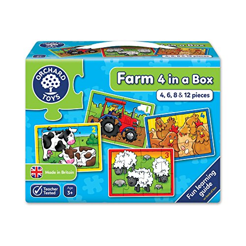 - Farm Four In A Box - First Counting Puzzles
