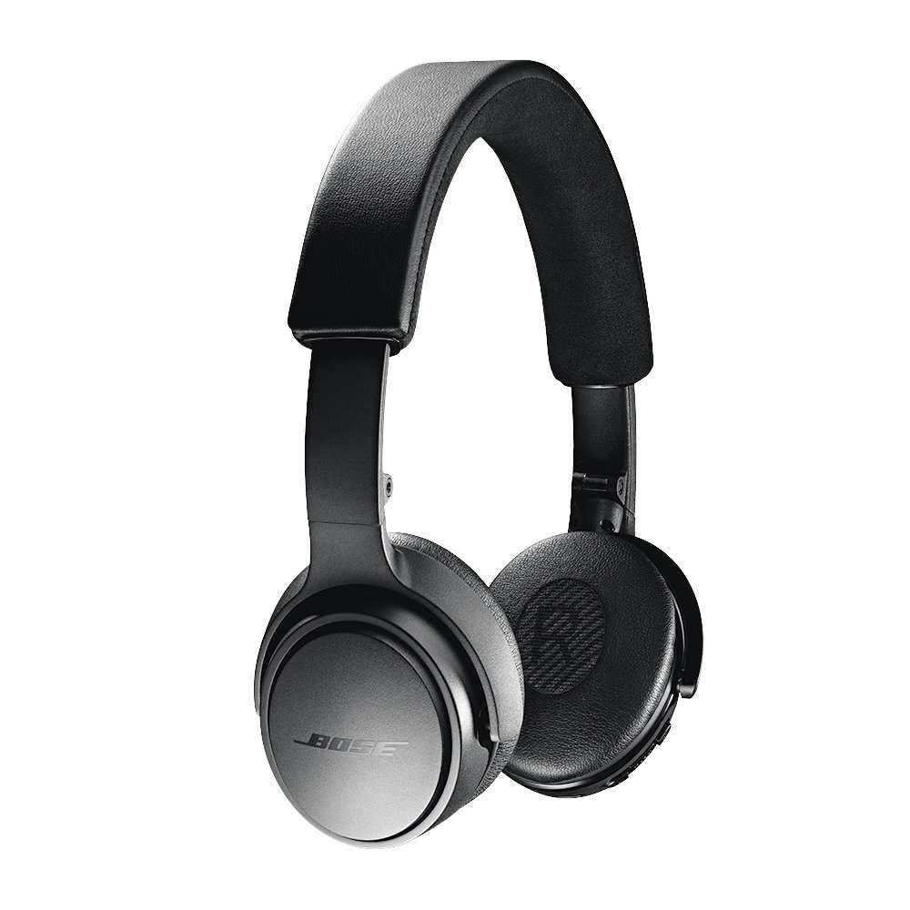 Bose Soundlink On-Ear Bluetooth Headphones with Microphone, Triple Black by Bose