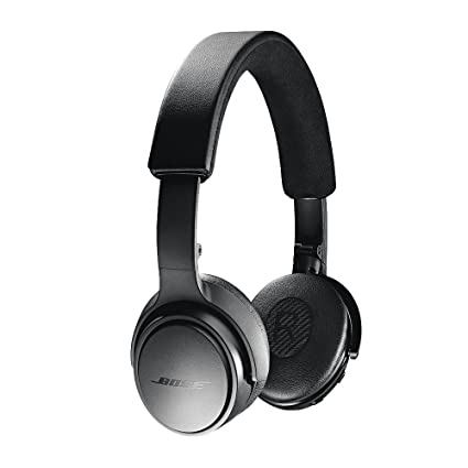 438f2893b48 Amazon.com: Bose SoundLink On-Ear Bluetooth Headphones with Microphone,  Triple Black: Electronics