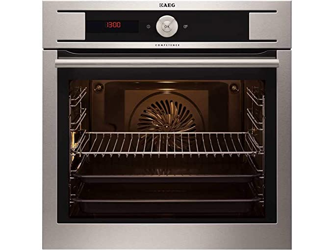 AEG by93 04101 m pyrolyse del Horno Acero Inoxidable empotrable ...