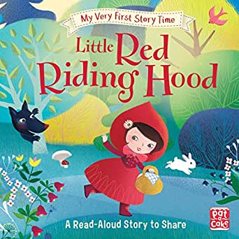 Little Red Riding Hood: Fairy Tale with picture glossary