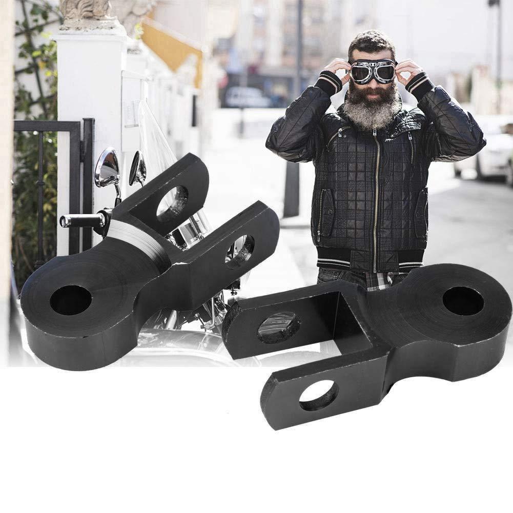 Fydun Motocicletta Ammortizzatore 2pcs Universale Ammortizzatori Moto Posteriore Riser Altezza Estensione 5cm Telaio per Modifica Motociclo con Vite