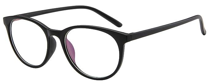 La vogue Marco de Gafas para Hombres Mujer Unisex Talla única Modelo A