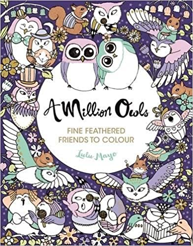 A Million Owls (Colouring Books)